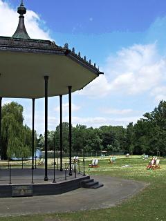 Altán v Regents Parku