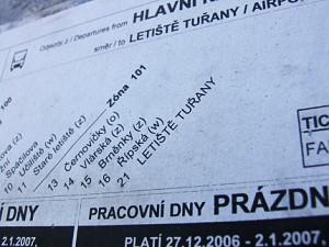 MHD Brno - Tuřany