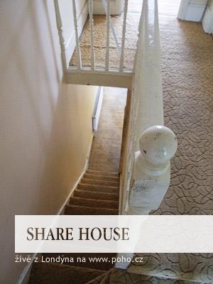 Schodiště v Share Housu