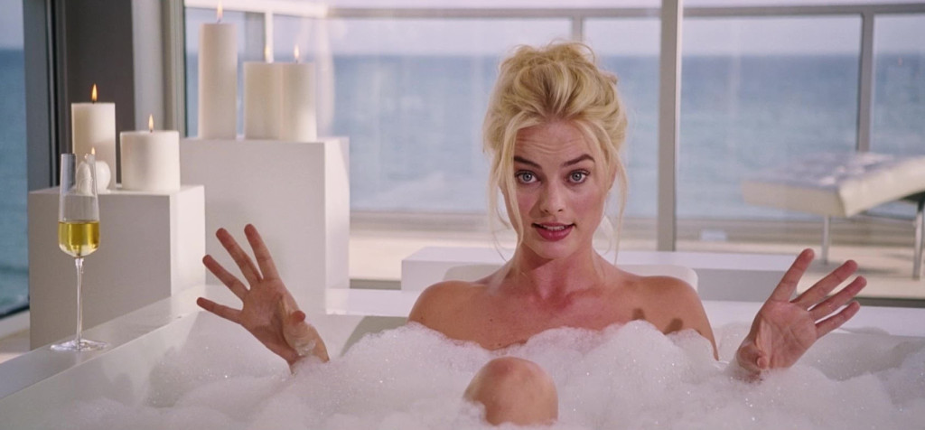 Margot Robbie ve vaně - The Big Short