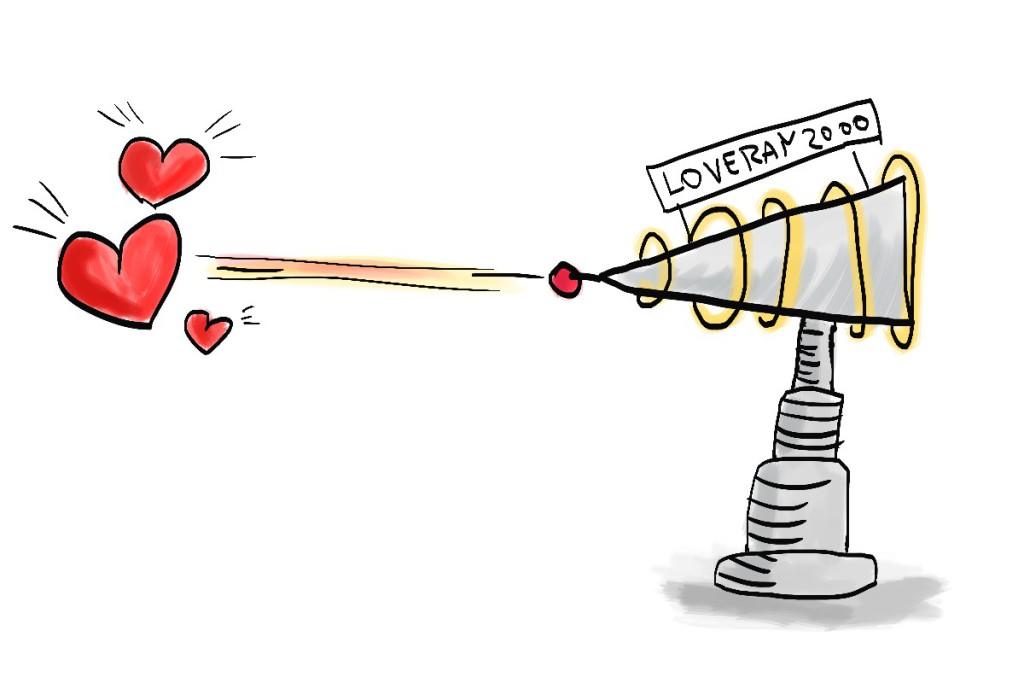 Paprsek lásky