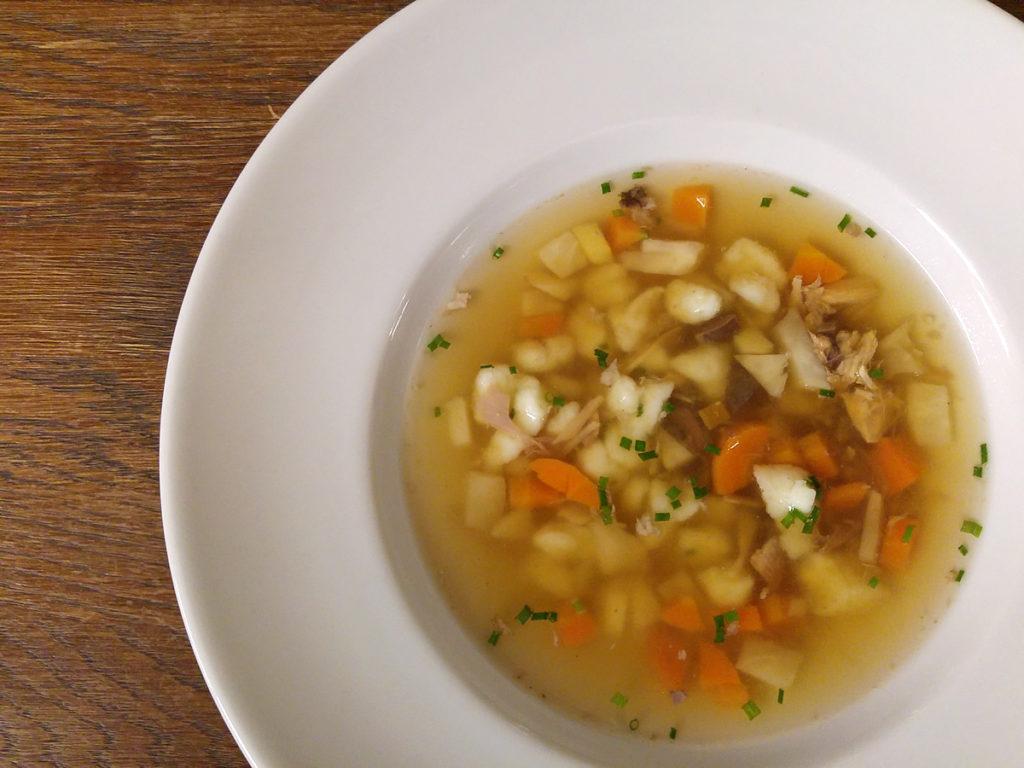 Lokál U Caipla - Vývar polévka