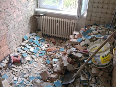 Bourací práce koupelna