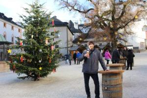 Pivo Stiegel - Vánoční trhy