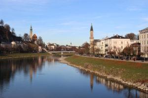 Salzburg řeka