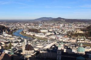 Salzburg výhled