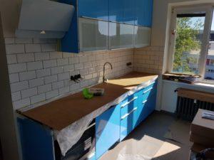 Sestavování kuchyně