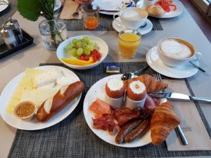 Hotel Rossi snídaně
