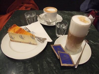 Cheescake v Gerstner Café