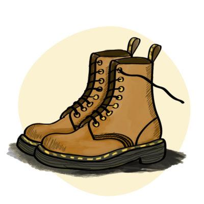 Dr Martens 1460 zimní boty