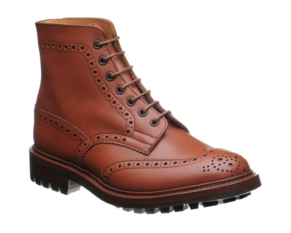 Trickers Malton Rubber brogue
