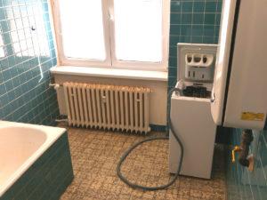 Koupelna - původní stav
