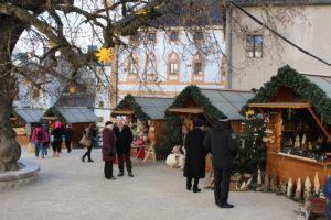 Hohensalzburg pevnost adventní trhy