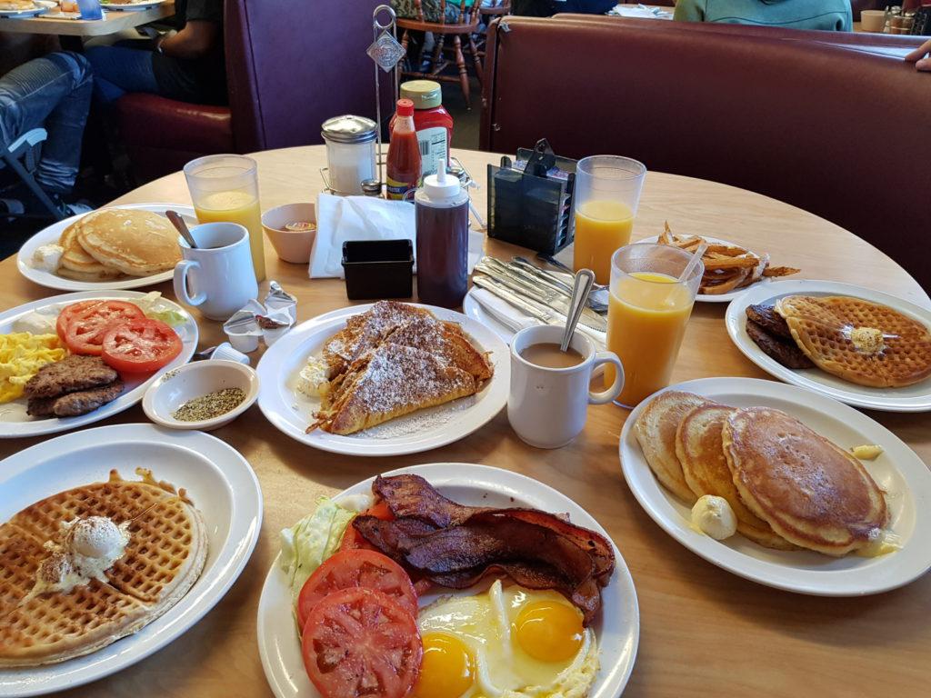 Americká snídaně