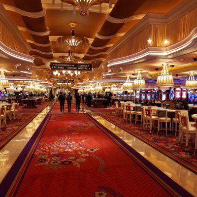 Ulička v kasinu